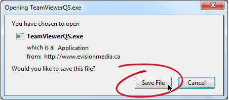 Click Save File